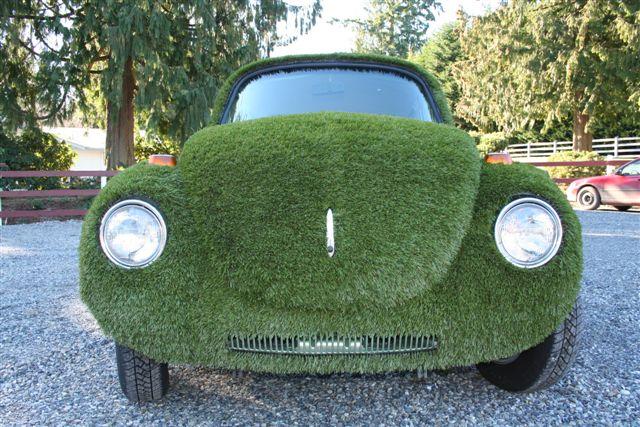 carro de grama sintetica