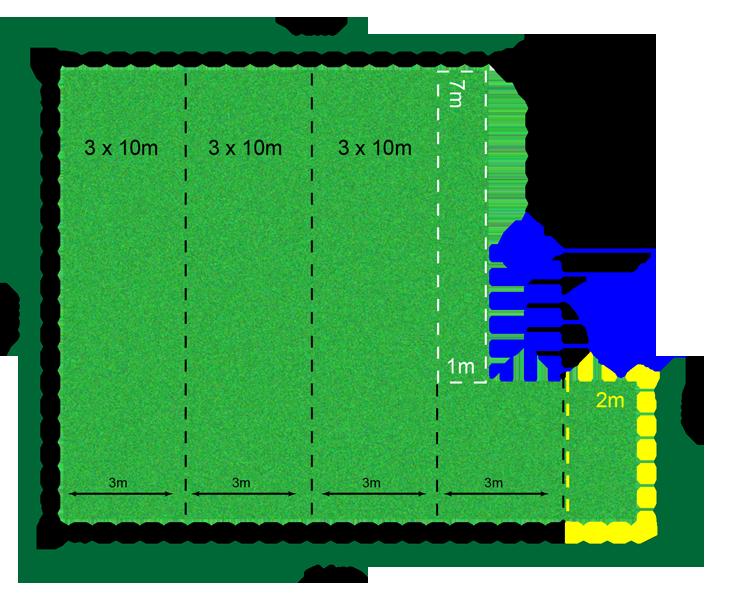 Mediação de Área para Instalação de Grama Sintética