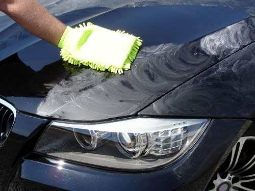 lavagem de carro a seco