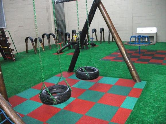 lajota ecológica em playground