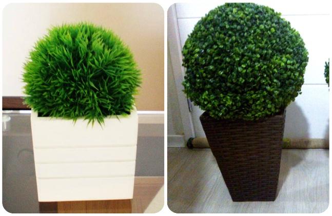 decoração-bolas-de-grama-sintetica