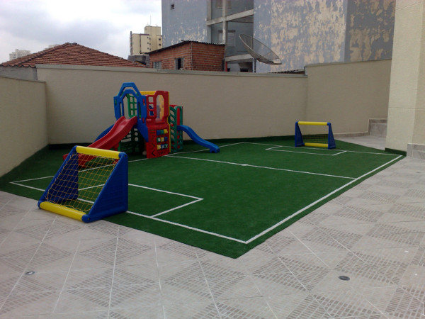 Grama sintética 10mm playground