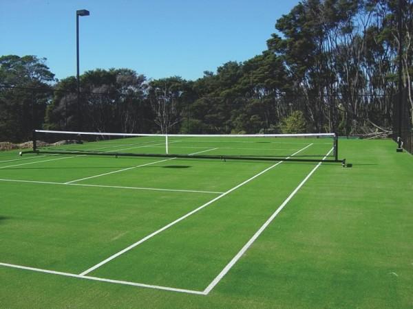 Grama sintética 15mm quadra de tenis