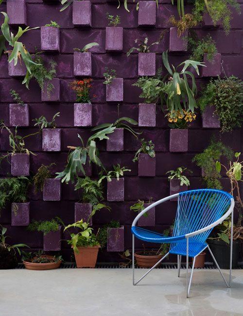 floreiras de concreto