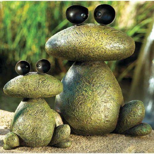 pedras customizadas na decoração do jardim