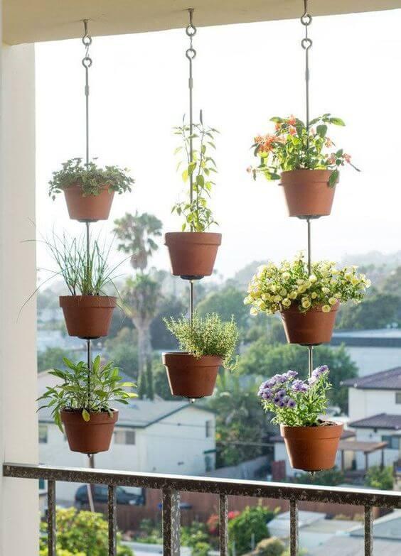 jardim vertical para varandas