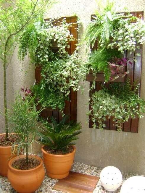 jardim de inverno com samabaias