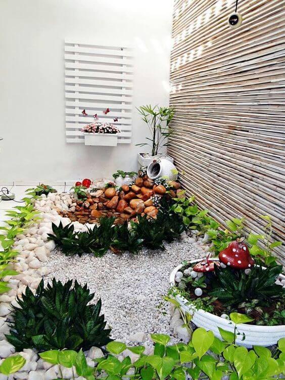 jardim de inverno decorado