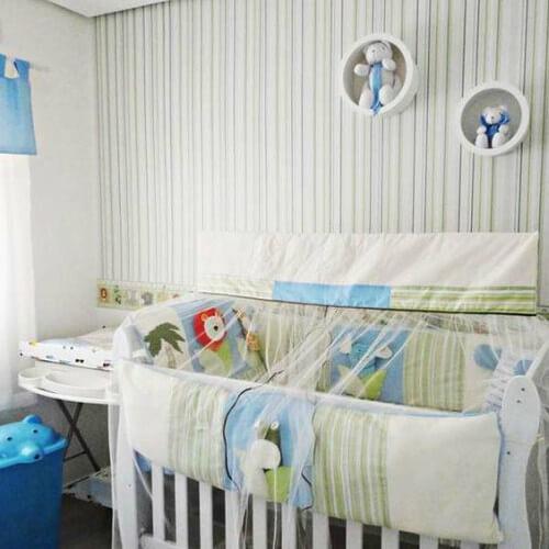 quarto de bebê com berco