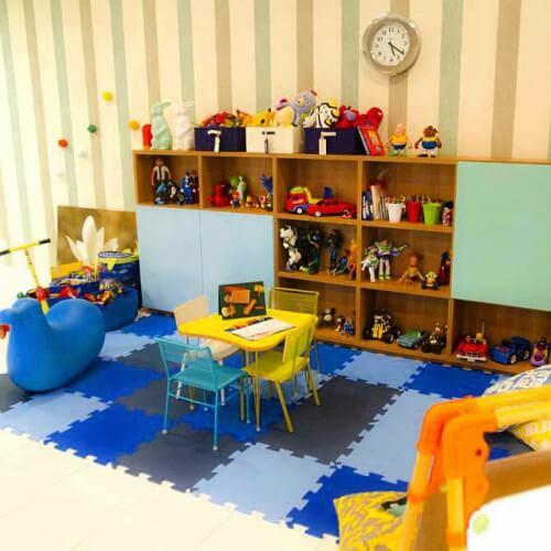 Brinquedoteca com piso de E.V.A