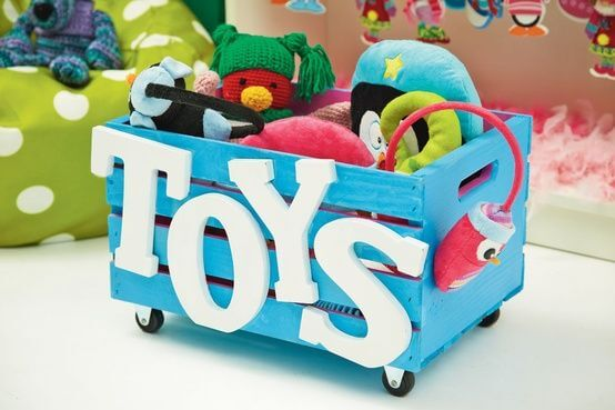 caixotes para guardar brinquedos