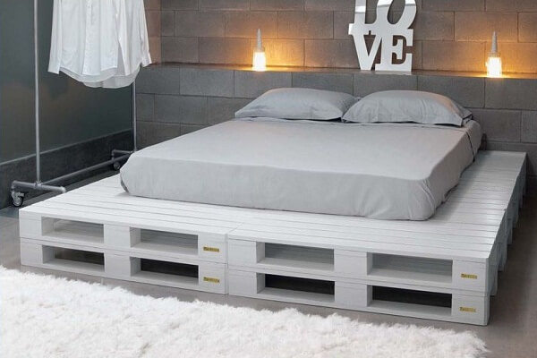 cama de pallets