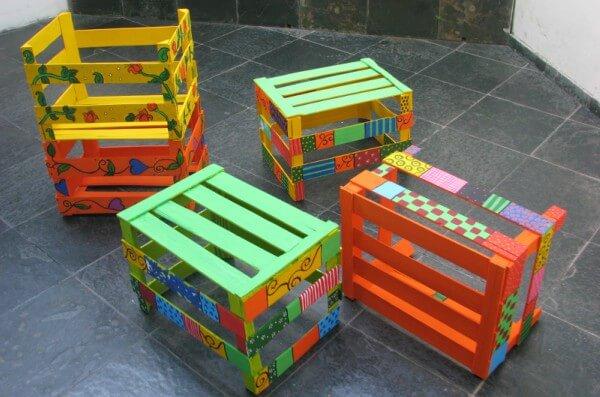 móveis infantis de caixotes