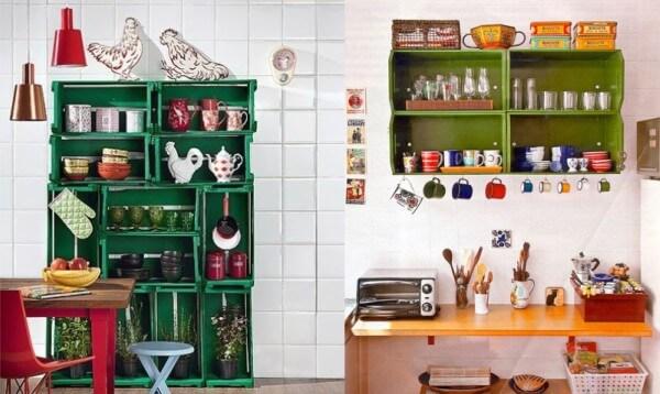 decoracao com reciclage m para a cozinha