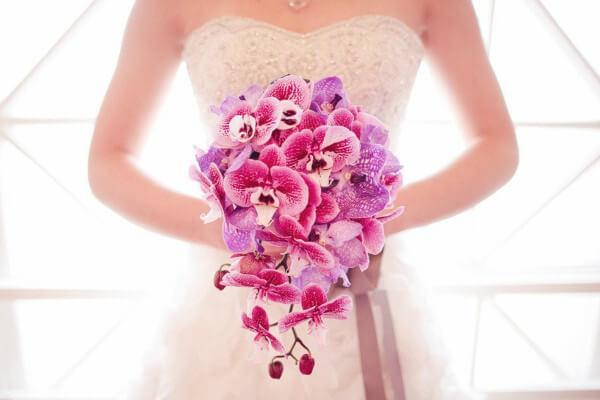 Flores para buquê de noiva