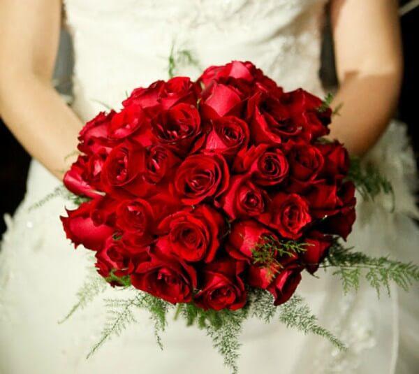 Flores para buques de noivas