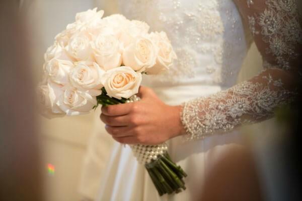 Flores para buque de noiva
