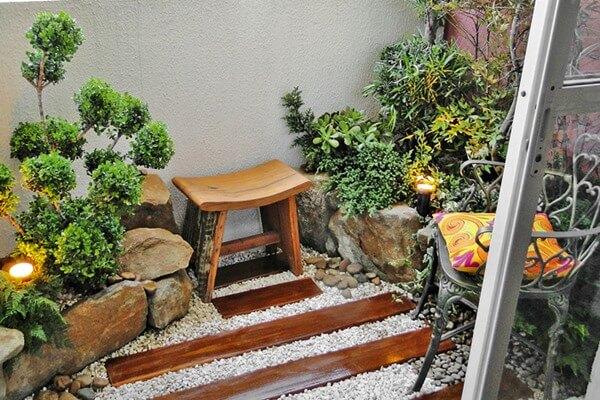 Como decorar jardim de inverno