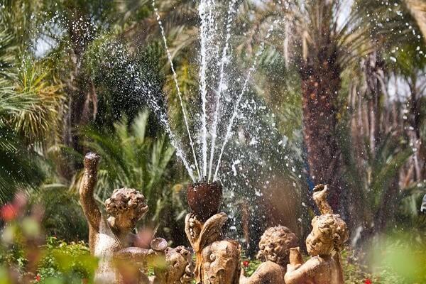Fonte de Água para Jardim