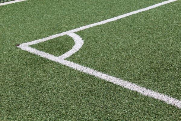 Grama sintética padrão FIFA