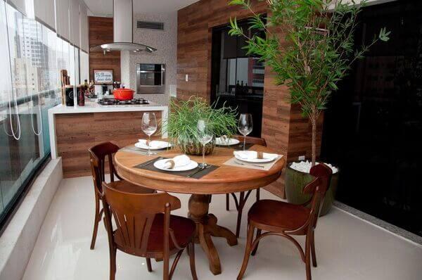 Área gourmet em casa