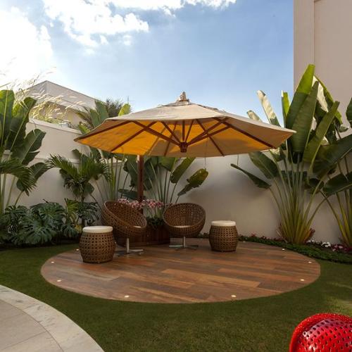 Jardim no terraço