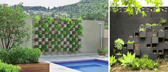 Jardim de concreto